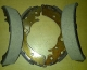 BRAKE SHOES HONDA STREAM 1700 CC / SET