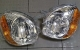 HEAD LAMP KIA VISTO & HYUNDAI ATOZ, MODEL KRISTAL / SET