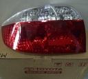 LAMPU BELAKANG TOYOTA VIOS TAHUN 2003-2005, SEBELAH KIRI, ORIGINAL TOYOTA