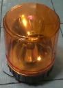 LAMPU ROTARY KUNING UKURAN 6 INCH 24 V.
