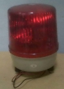 LAMPU ROTARY BESAR 12 V. MERAH.
